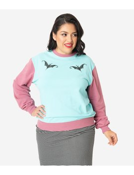 Cakeworthy Plus Size Nightmare Before Christmas Sally Pullover Sweater by Unique Vintage