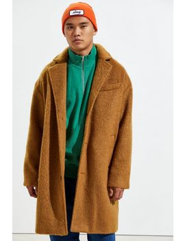 Uo Relaxed Wool Topcoat by Urban Outfitters