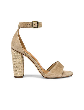 Tall Capri Heel In Blush by Soludos