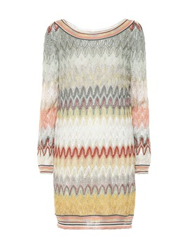 Striped Stretch Silk Minidress by Missoni