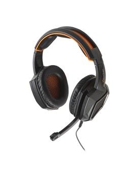 X Rocker Xh3 Stereo Gaming Headset (Black/Orange) by Smyths