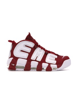 "Air More Uptempo Supreme ""Suptempo\"" Red by Stock X"