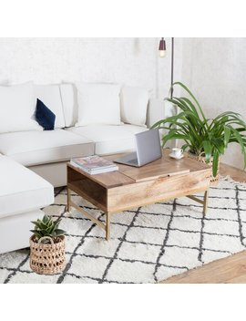 Kassidy Lift Top Coffee Table With Storage by Joss & Main