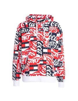 Tommy Jeans X Coca Cola Aop Hoody by Kickz.Com