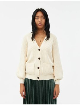 Sophie Ribbed Cardigan by Just Female Just Female