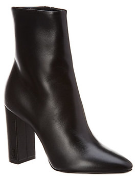 Saint Laurent Lou 90 Leather Bootie by Saint Laurent
