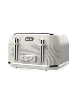 Breville Flow 4 Slot Toaster by Next