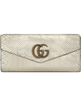 Broadway Genuine Snakeskin Evening Clutch by Gucci