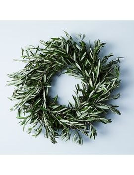 Wild Olive Wreath by Creekside Farms