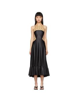 Black Flared Dress by Marine Serre