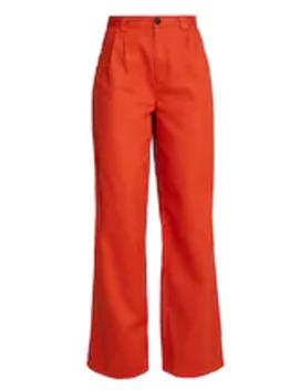 Tailored Wide Trousers   Pantalon Classique by Unique 21