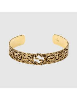 Yellow Gold Bracelet With Interlocking&Nbsp;G by Gucci