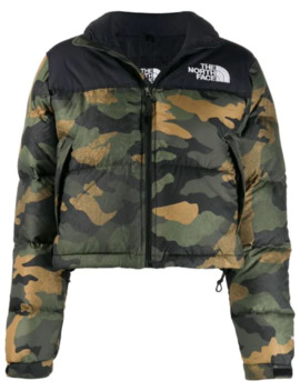 Camouflage Print Padded Jacket by The North Face