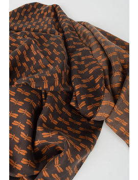 Printed Scarf by Doppia A