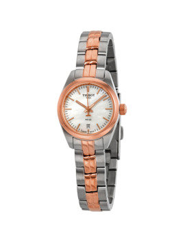 T Classic Mother Of Pearl Dial Two Tone Ladies Watch by Tissot