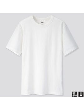 Men Uniqlo U Crew Neck Short Sleeved T Shirt (47) by Uniqlo