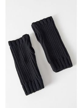 Uo Ribbed Knit Fingerless Glove by Urban Outfitters