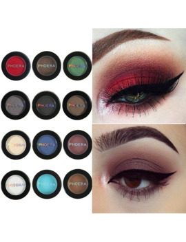 Phoera Matte Eyeshadow Cream Pallete 12 Color Makeup Waterproof Lasting Beauty Make Up Cosmetic Powder Pigmentos De Sombra Tslm1 by Ali Express.Com