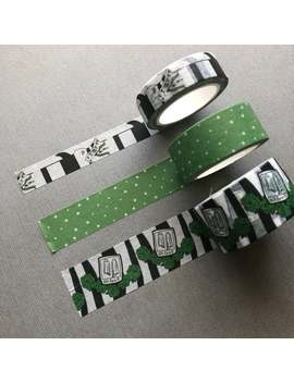 Beetle Juice Washi Tape, Washi Tape, Washi Tape Pack by Etsy