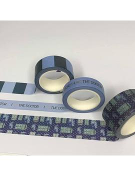 Doctor Who Washi Tape, Washi Tape, Washi Tape Pack, Polka Dots, Cute, I Love The Doctor by Etsy