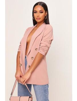 Pink Oversized Blazer by I Saw It First