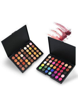 35 Colors Eye Makeup Nude Matte Shimmer Eyeshadow Pallete Glitter Powder Eye Shadow Smoky Earth Shadows Brush Set Stamp Pigment by Ali Express.Com