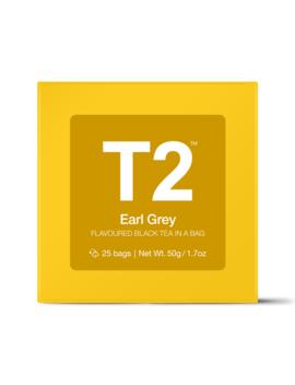 Earl Grey Teabag Gift Cube by T2 Tea