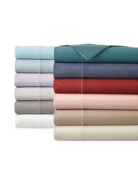 Liz Claiborne Luxury 600tc Sateen Wrinkle Free Sheet Set by Liz Claiborne