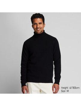 Herren Rollkragenpullover Aus Premium Lammwolle (17) by Uniqlo