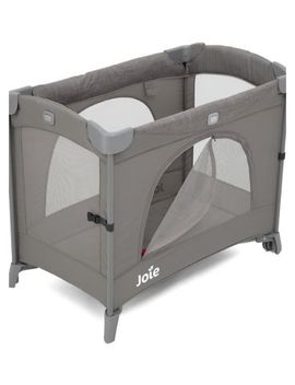 Joie Kubbie Sleep Travel Cot   Foggy Grey by Joie