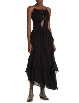 Drop Dead Beauty Tiered Maxi Dress by Free People