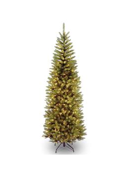 9 Ft. Kingswood Fir Pencil Artificial Christmas Tree With Clear Lights by National Tree Company