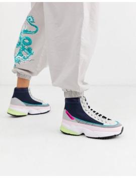 Botas En Negro Y Rosa Kiellor Xtra De Adidas Originals by Adidas