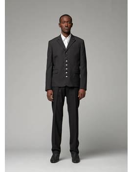 7 Button Jacket by Saint Laurent