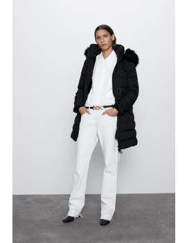 Water Resistant Down Puffer Jacket by Zara