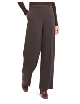 Admiral Crepe Wide Leg Trousers by Theory