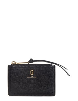 Snapshot Leather Zip Wallet by The Marc Jacobs