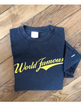 Final Drop ! 2000 Supreme World Famous Tee by Supreme  ×