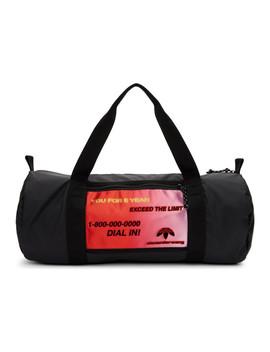 Black Duffle Bag by Adidas Originals By Alexander Wang