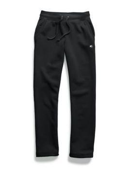 Champion Women's Powerblend® Fleece Open Bottom Pants by Champion