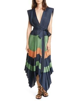 Mayshe Handkerchief Hem Dress by Ulla Johnson