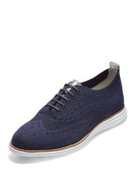 Cole Haan Original Grand Stitchlite Oxford Sneakers, Blue by Cole Haan