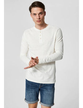 Langærmede T Shirts by Selected Homme