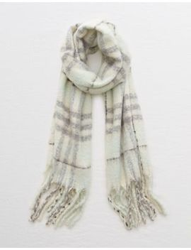 Ae Plaid Blanket Scarf by American Eagle Outfitters