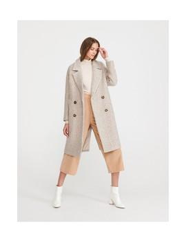 Gyapjúkeverék Kabát by Reserved
