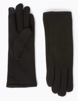 Warm Lined Gloves by Marks & Spencer