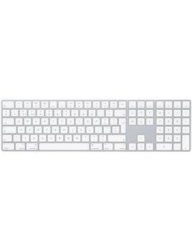Magic Keyboard Med Numerisk Del – Svenskt – Silver by Apple