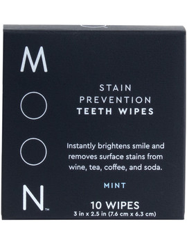 Stain Prevention Teeth Wipes by Moon