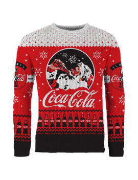 Coca Cola Christmas Jumper   M by Coca Cola