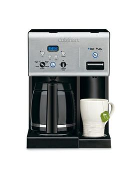 Cuisinart Coffee Plus 12 Cup Programmable Coffeemaker And Hot Water System   Chw 12 C by Walmart